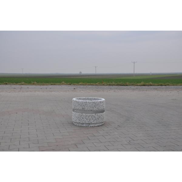 Donica betonowa okrągła 50×40 kod: 277A
