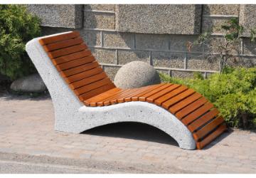 Leżak betonowy